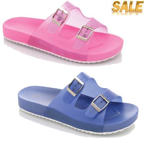 Ladies Womens Flat Flip Flops Summer Beach Swim Casual Rubber Sandals New UK 3-8