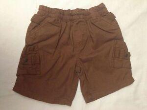 Prenatal-pantaloncini-corti-colore-marrone-taglia-12-18-mesi-77-83-cm