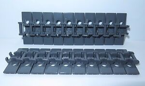 20 x LEGO Technic Grey Tread Links 57518 Chain Wheels used !!! Links Track