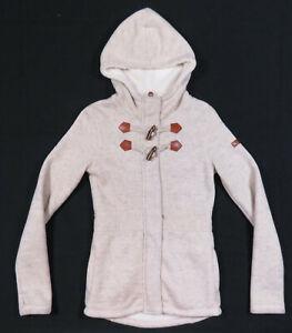 NWOT Bench Urbanwear Wool Sherpa Lined Hooded Full Zip Toggle Womens Jacket S