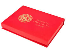 Lunar Serie II Münzbox Box / Münzkassette für 12x 1 Oz Silber Ziege Affe Drache