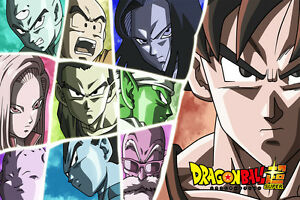 Dragon Ball Super Tournament of Power Poster 12in x 18in ...
