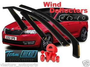 Skoda-RAPID-SPACEBACK-5D-2013-Wind-deflectors-4-pc-HEKO-28341