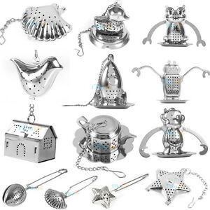 Tea-Ball-Strainer-Infuser-Stainless-Steel-Filter-Squeezer-Herb-Leaf-Spice-Star-y