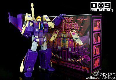 Transformed Masterpiece DX9 Toys D08 Gewalt aka MP Blitzwing Action Figure