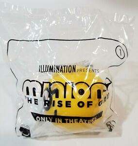 MINIONS-Illumination-Happy-Meal-McDonalds-Regular-Toys-GOLD-Sold-out