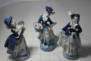 Occupied Japan Figurines Set Of 3 Ebay