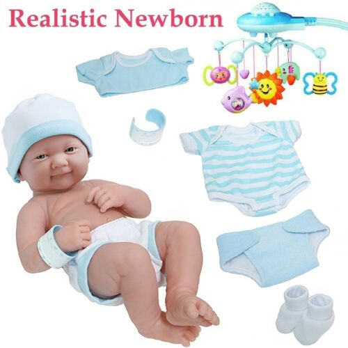 Baby Boy Doll Silicone Vinyl Reborn Toddler Dolls Real Handmade Lifelike Newborn