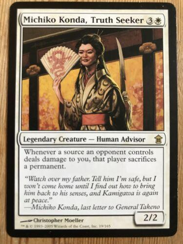 Truth Seeker MTG Saviours Of Kamigawa Michiko Konda
