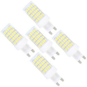 5 st ck g9 10w led dimmbar lampe 86x2835 smd ac 220 240v kaltwei 6000k 800 lm 734010299931 ebay. Black Bedroom Furniture Sets. Home Design Ideas