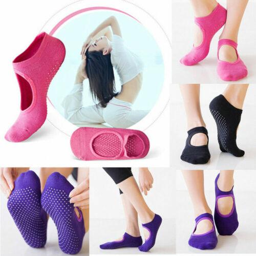 Indoor Yoga Socks For Women Non Slip Socks with Grips Barre Socks Pilates Socks