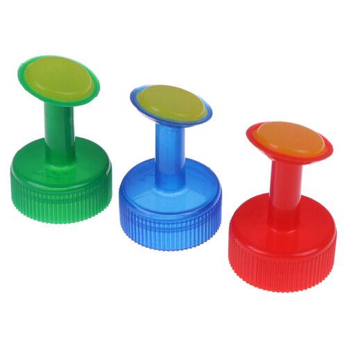3pcs Bottle Top Self-Watering Tool Automatic Flower Feeder Spri Water Plant MC