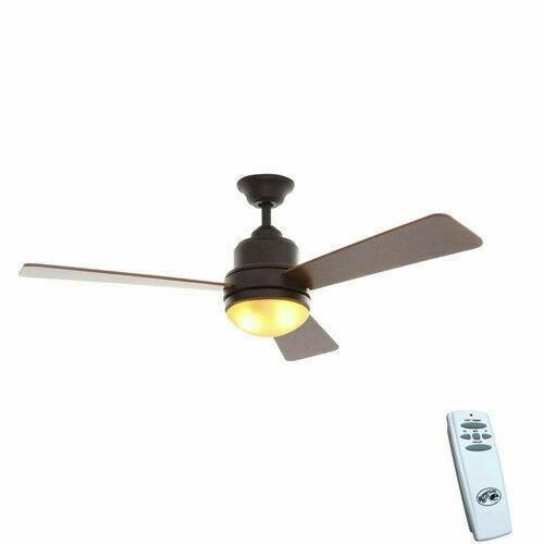 Hampton Bay Trieste 52 In Indoor Ceiling Fan Oil
