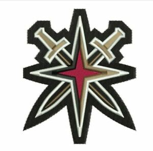 Image Is Loading Vegas Golden Knights Patch Jersey Secondary Inaugural Season