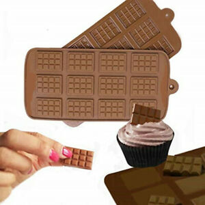 Fad-Silicone-Mini-Chocolate-Block-Bar-Mould-Mold-Ice-Tray-Cake-Decorating-Tools
