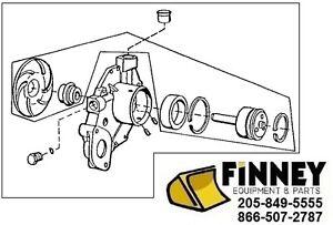 Details about John Deere Dozer Loader Water Pump RE505981 450G 455G 550G  750C 850C 544H 624H