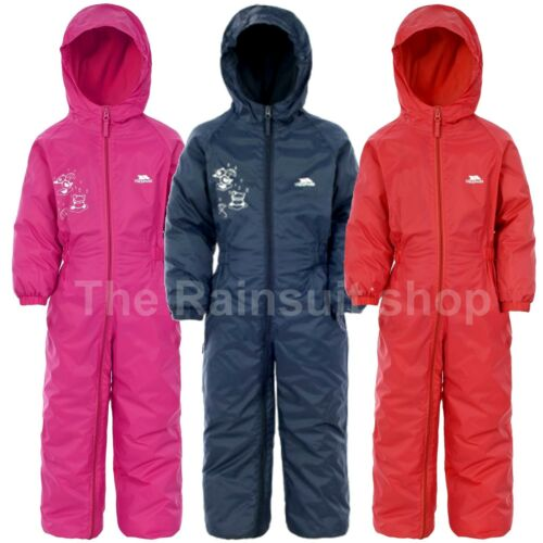 5810b9b35 Trespass Waterproof Drip Drop Kids  Outdoor Rain Suit Available in ...