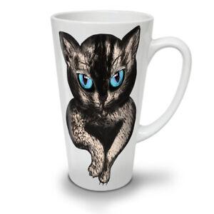 Blue Eyes Cute Furry NEW White Tea Coffee Latte Mug 12 17 oz | Wellcoda