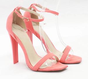 Asos Womens UK Size 7 Orange Heels