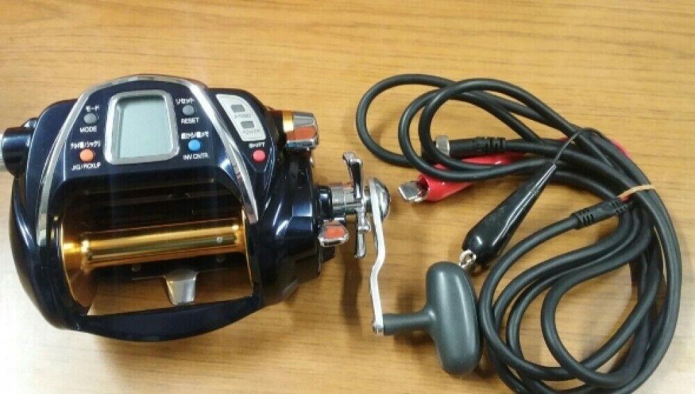 Daiwa Seaborg 1000 Mt De Agua Salada Cocherete eléctrico de pesca gran juego Probado Usado