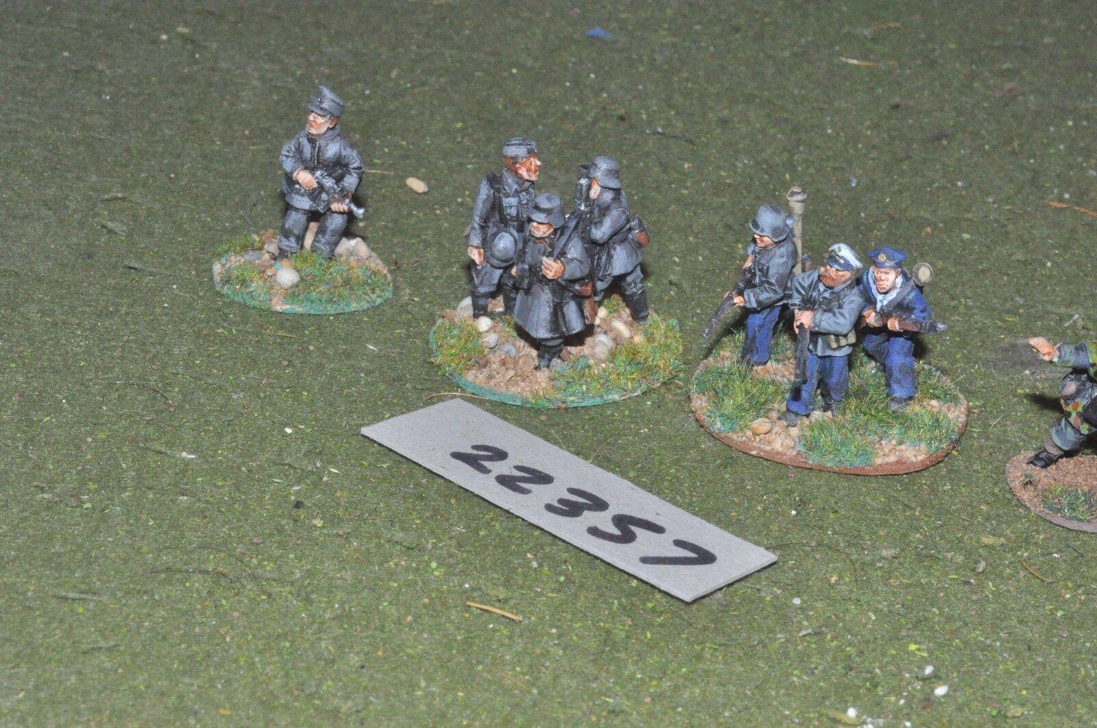 28mm cats   deutsch - cuirassiers 8 abbildungen inf - 2. weltkrieg - inf (22357)