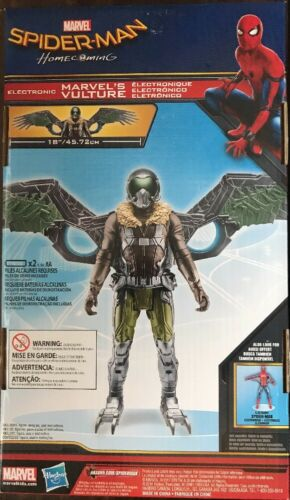 """NEW IN PACKAGE Marvel Spider-man Homecoming VULTURE 12/""""Electronic Action Figure"""