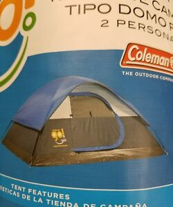 879a42ad6cd Coleman Go! 2 person Dome Tent 7 X 5 X 3 -b9 76501117660