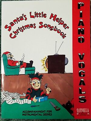 Piano//Vocal Sheet Music Santa/'s Little Helper CHRISTMAS Songbook