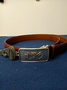 1 Green Bridge 6 cm genuine leather buckle-250a