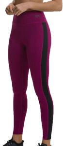 TCA Endurance Womens Training Tights Black Soft Stretchy Flattering Fit Gym Yoga