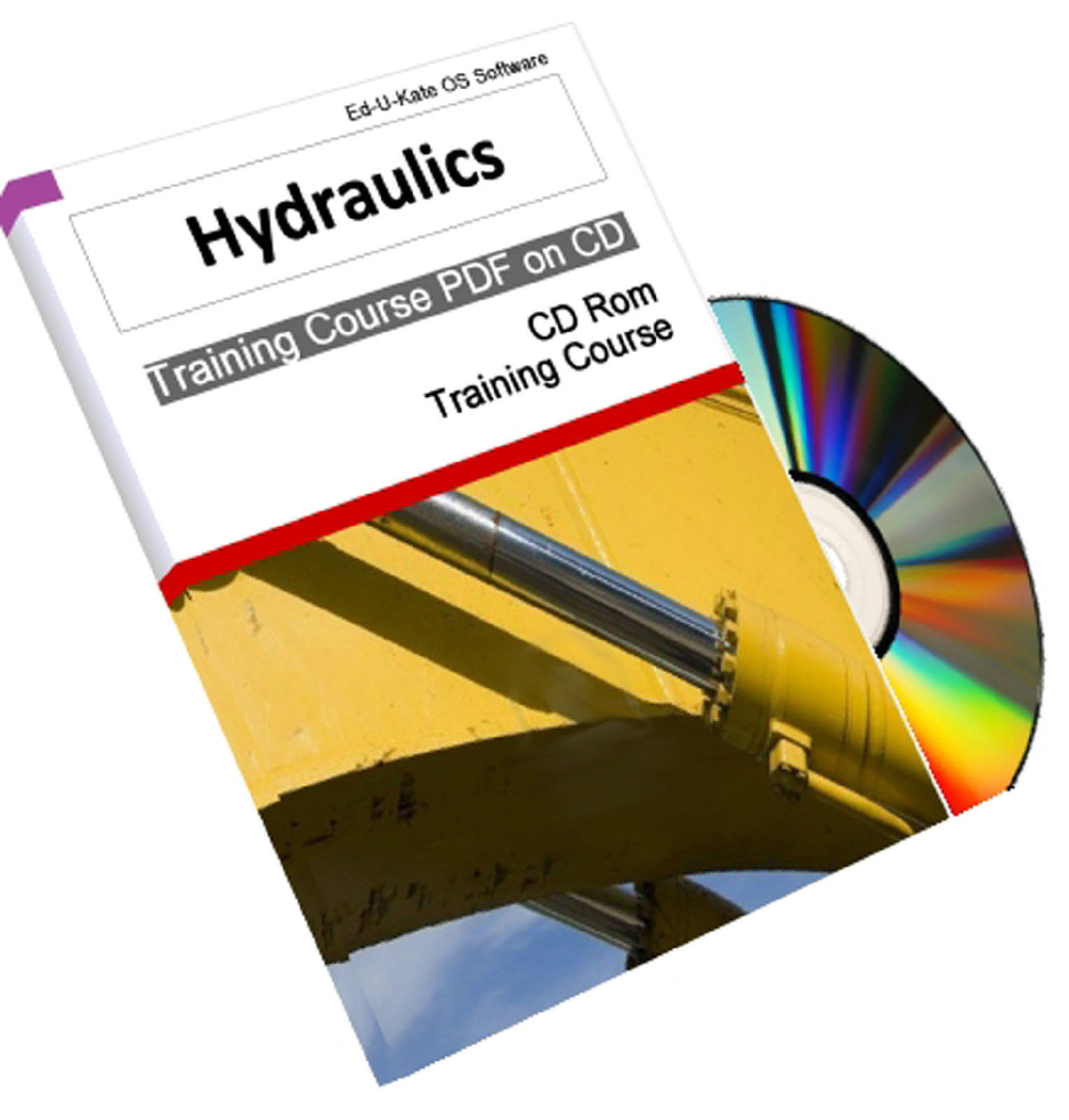 Hydraulics Pump Valve RAM Fluid Training Course System Structures Manual CD  Book