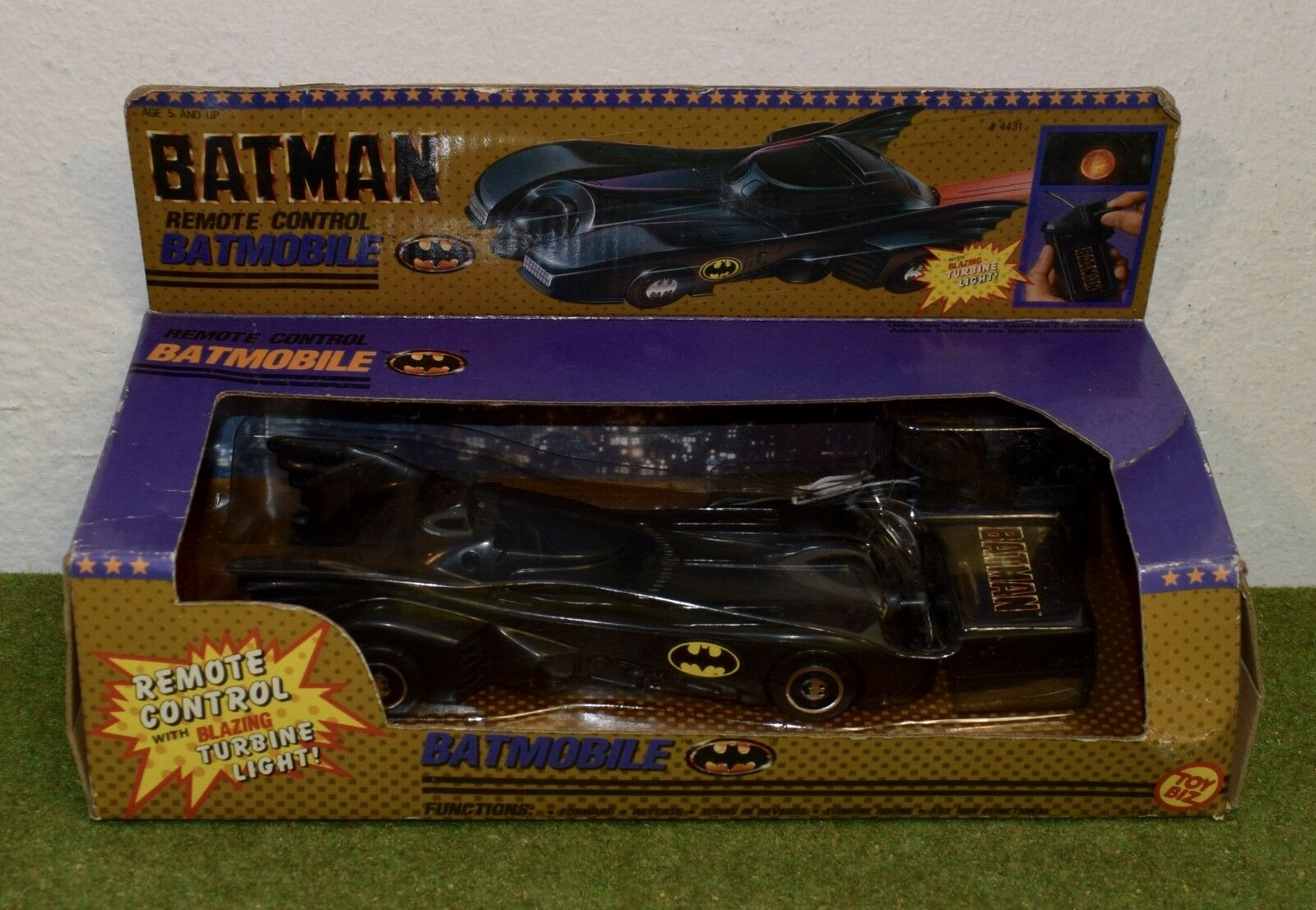 TOY BIZ BATMAN BATMOBILE REMOTE CONTROL DC COMICS