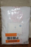 Pottery Barn Kids Mia Embroidered Blackout Drape 44x84 Pink