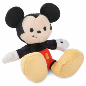 Disney Store Tiny Big Feet Plush Collection Mickey Mouse Micro Plush