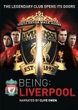 Soccer Being Liverpool DVD 2-Disc 2012 Brendan Rodgers Kenny Dalgish Clive Owen