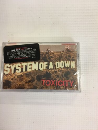 System of a Down Toxicity (Columbia 2001) Cassette Tape NEW!!!!!