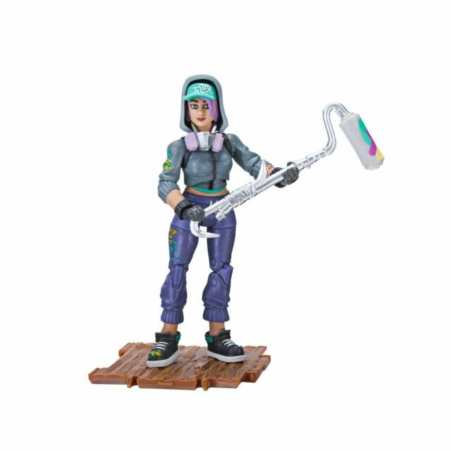 "Fortnite Teknique Solo Mode Core Action 4/"" Figure Toy Jazwares Prototype"