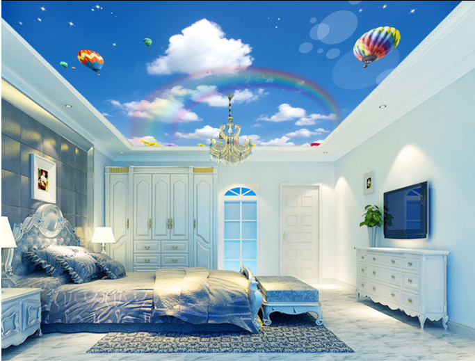 3D Balloon Petal Rainbow 78 Wall Paper Wall Print Decal Wall Deco AJ WALLPAPER