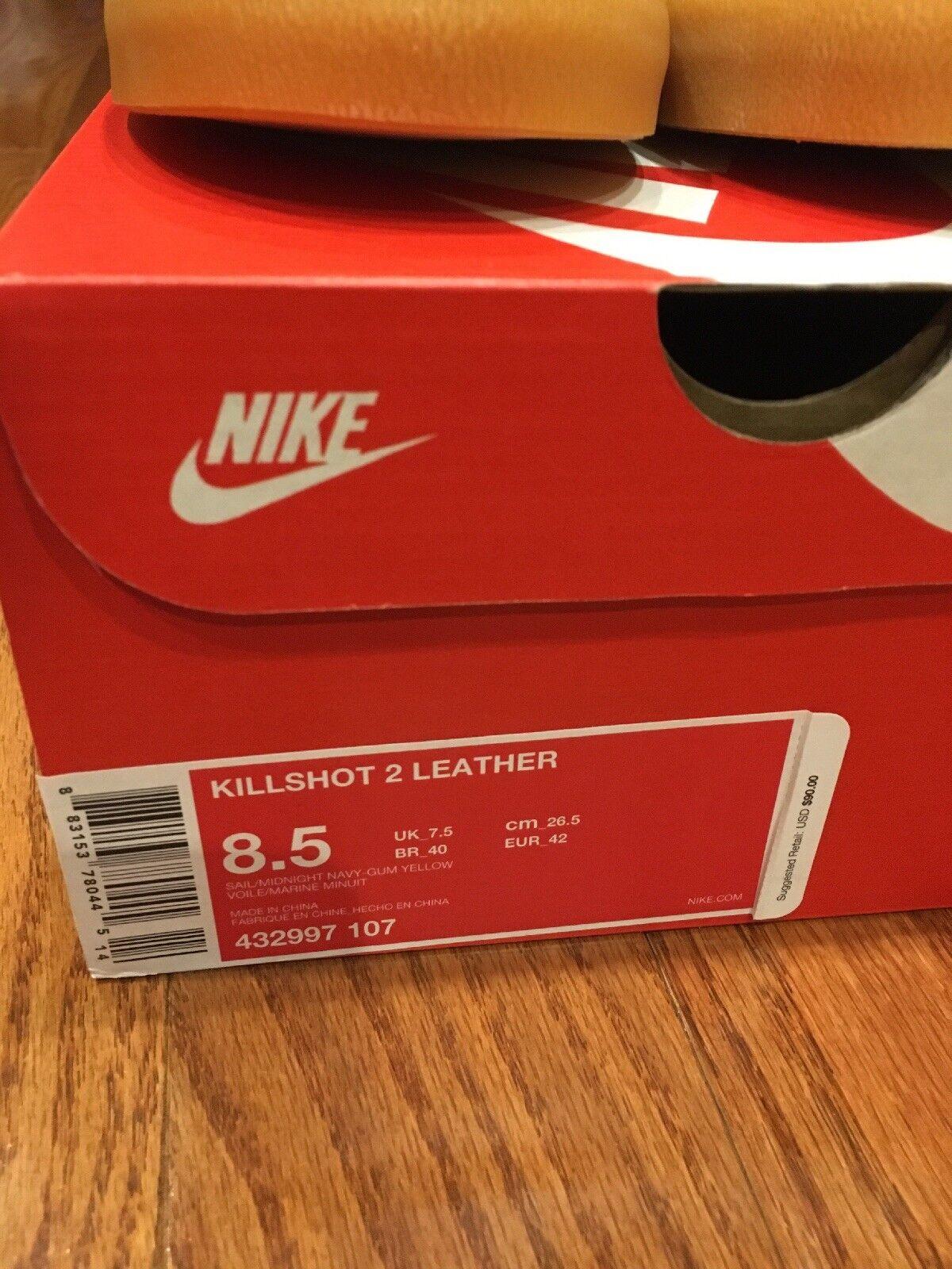 Nike killshot männer 2 selten begrenzte freigabe männer killshot j crew 8.5m d9bb67