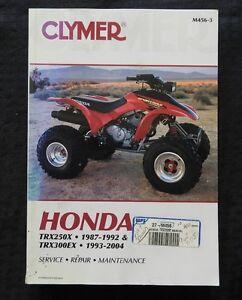 1987-2004-HONDA-TRX250X-TRX300EX-ATV-SERVICE-REPAIR-MAINTENANCE-MANUAL-VERY-NICE