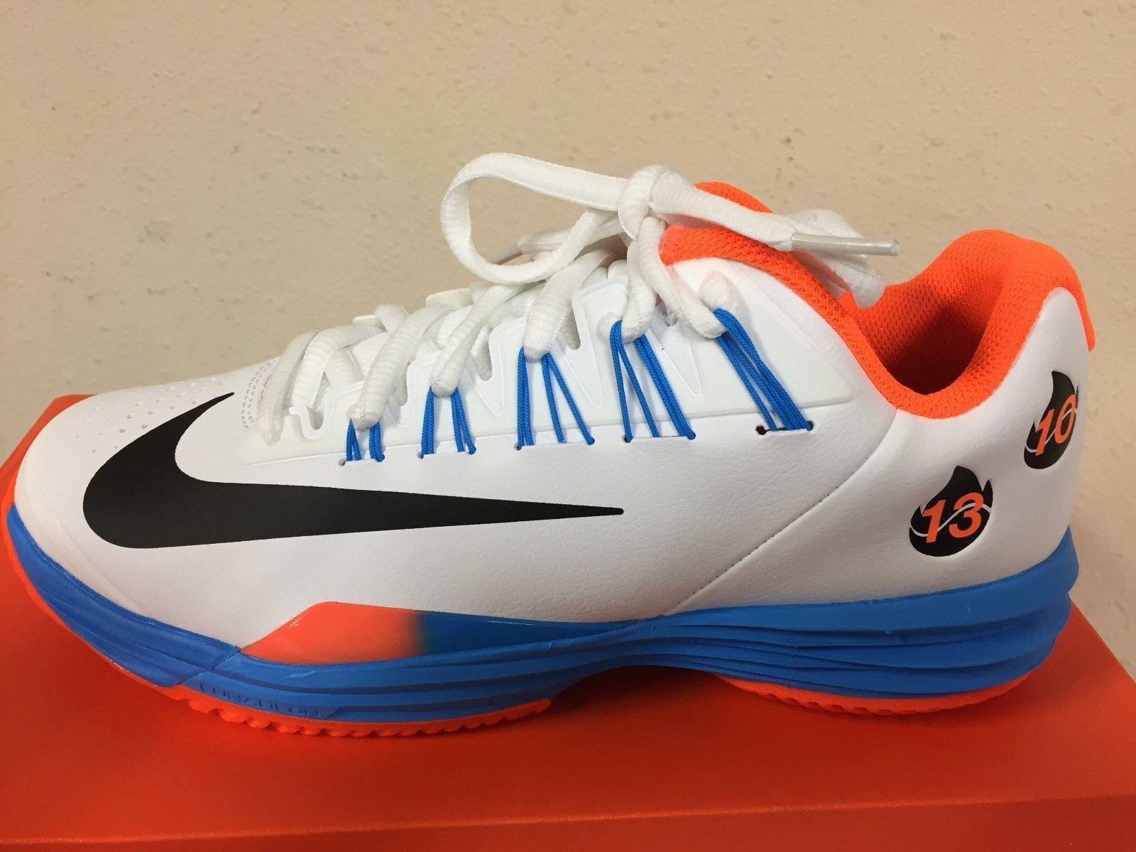 NIB Nike Nadal Lunar Ballistec 1.5 LG Legend Tennis Chaussures 812939-108 Federer
