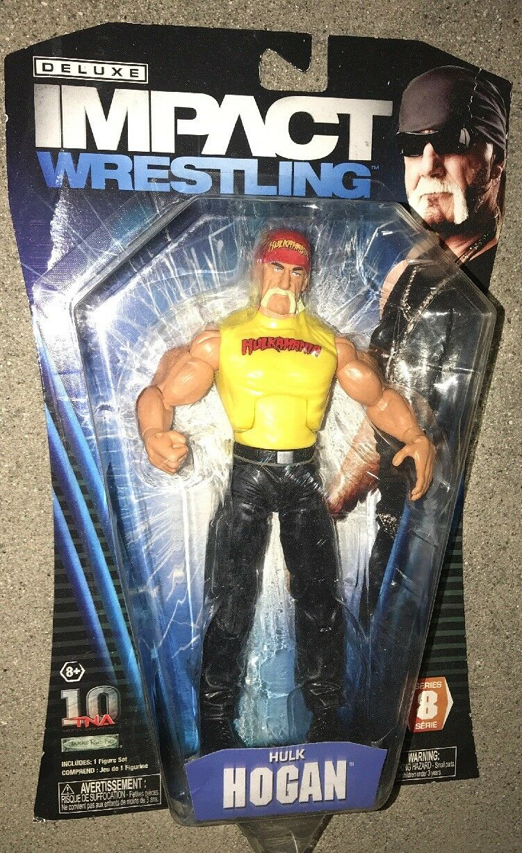 Deluxe Impact Wrestling TNA Jakks Pacific Series 8 Hulk Hogan Hollywood WWF WCW