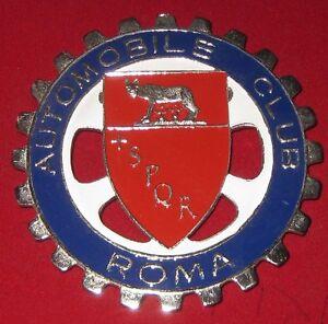 Automobile Club Moaco Car Grill Badge Emblem Enamled Car Logo Metal Badge Racing Other
