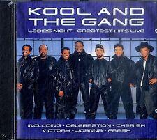 KOOL AND THE GANG Ladies Night - Greatest Hits Live CD Sigillato