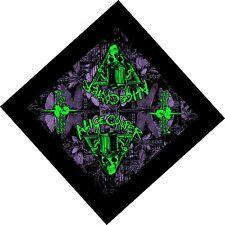 """Alice Cooper """"Welcome 2 My Nightmare"""" Album Art Rock Metal Bandana Head Kerchief"""