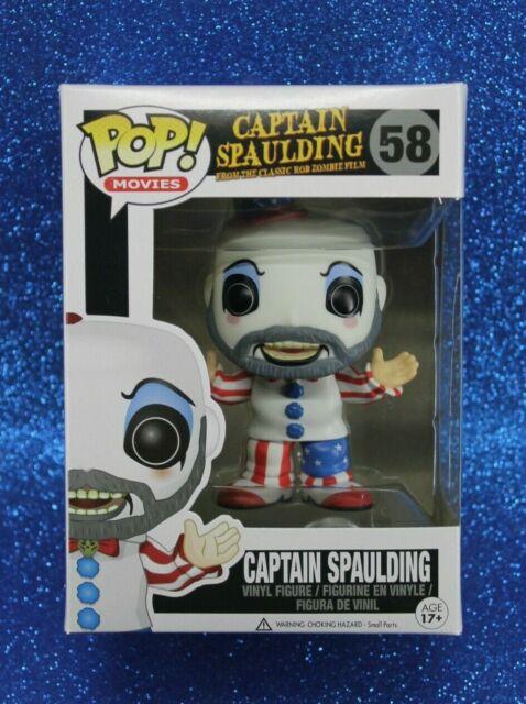 """4/"""" House of 1000 Corpses Figure Funko POP Spielfiguren Spaulding Character Toy"""