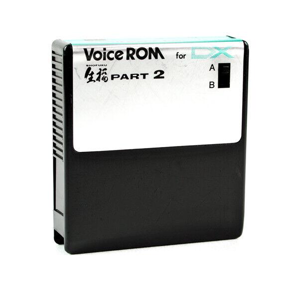 Avic Soft KV-02 SHOFUKU PART 2 voice ROM cartridge for Yamaha DX7 SyntheGrößer