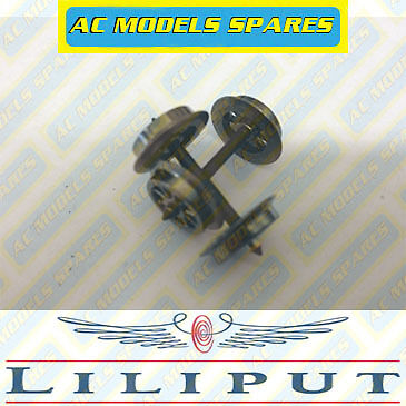 Liliput L939385 Replacement HO Traction Tyres 4 x 15mm Dia x 1.5mm Wide 1stPost