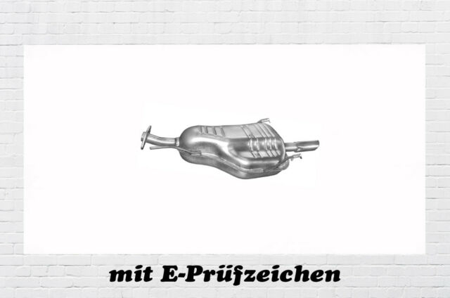 Opel Astra G CC 1.4 1.6 Endschalldämpf Auspuff Endtopf Auspuffanlage BJ.98 - 03