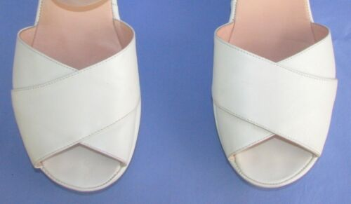 Sandali Accessori eccellenti Leather Condizioni 40 zeppa White All con Suola 6drgd